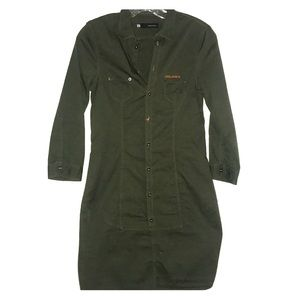 DSQUARED Military Dress size 42